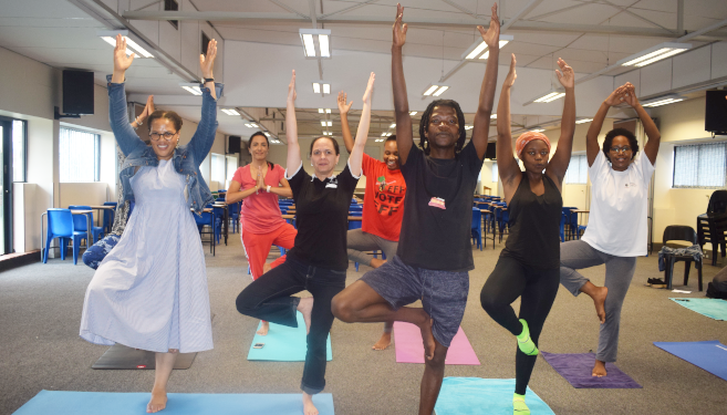 Yoga Classes Launched for Staff and Students